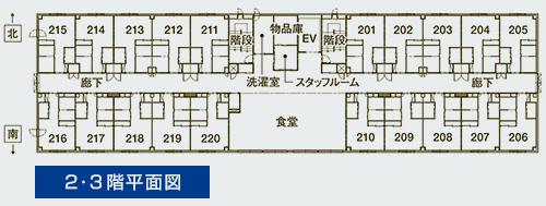 入居室平面図