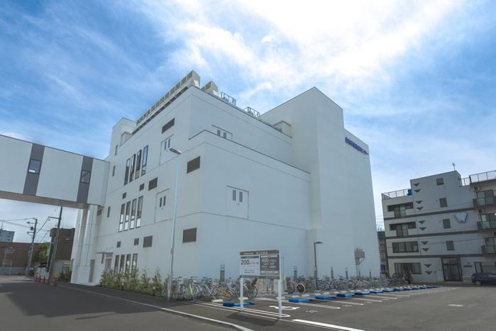 陽子線センターの外観画像